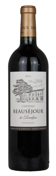 Chateau Beausejour, 2011